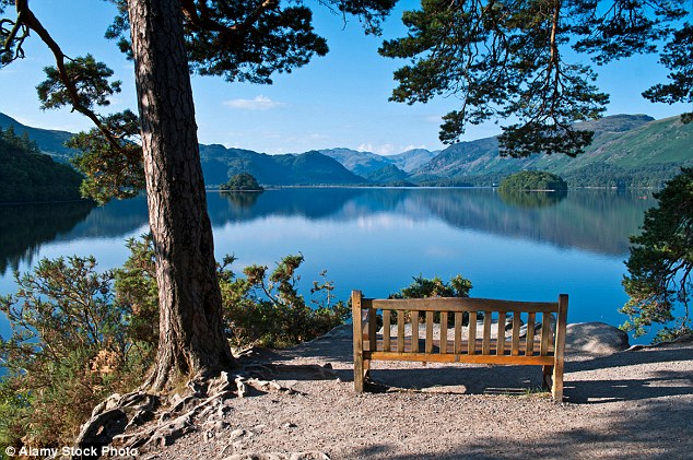 'Blue Space' - The view from Friar's Crag over Derwentwater towards Borrowdale IMAGE BY DailyMail