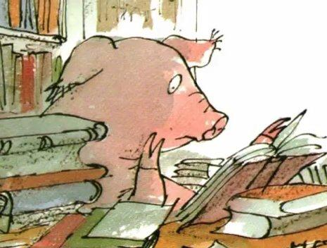 Quentin Blake Sketches For Dahl Books