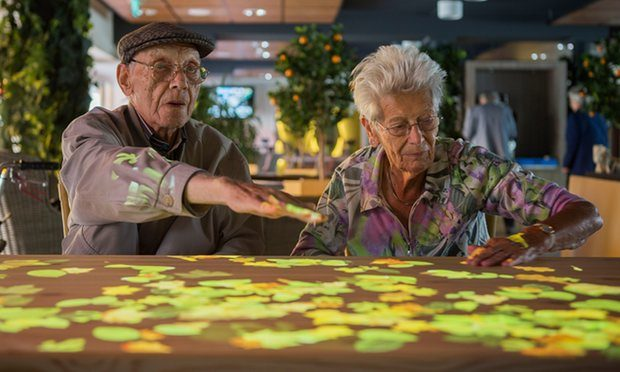 How A 'Magic Table' Is Fighting Dementia