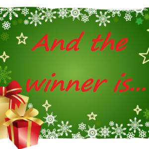 DC Christmas Raffle Winner!