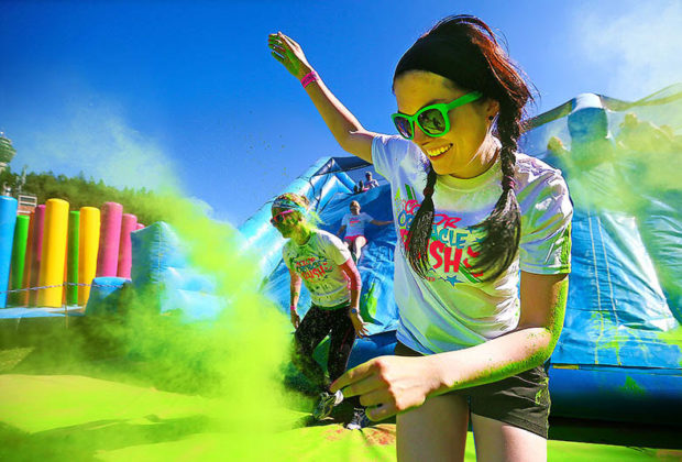 Colour Obstacle Rush UK!