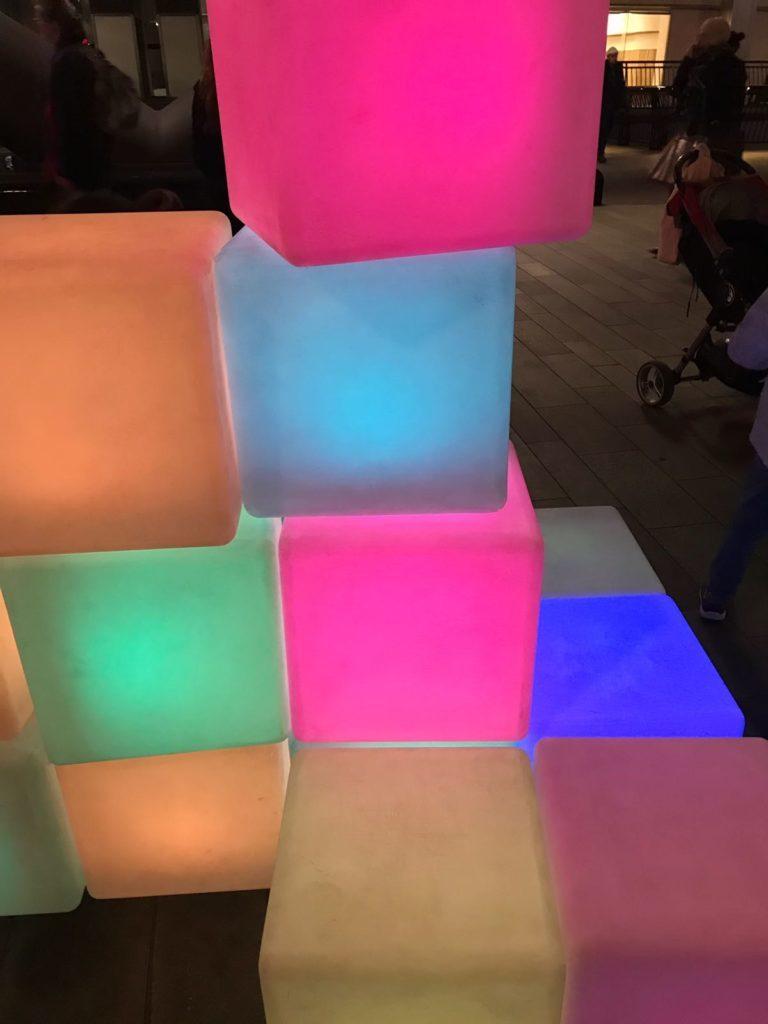 Sensory Sensation! Canary Wharf Winter Lights